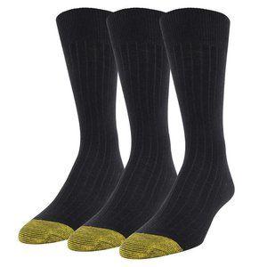 NEW!!! Gold Toe Men's Dress Crew Shoe
